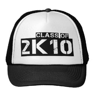 clase de 2k10 (2010) gorro de camionero