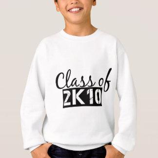 clase de 2k10 (2010) sudadera