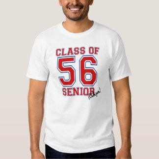 Clase de 56 camisas