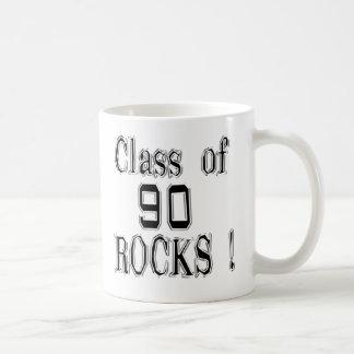 ¡Clase de '90 rocas! Taza