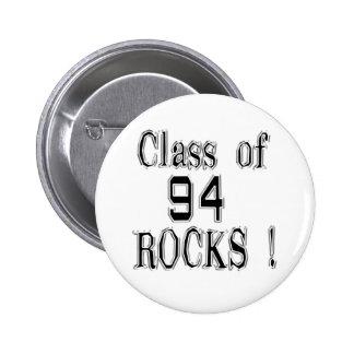 ¡Clase de '94 rocas! Botón Pin