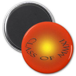 Clase de B 2011 Imán Redondo 5 Cm