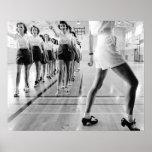 Clase de baile de golpecito, 1942 impresiones