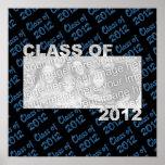 Clase de bastidor cortado 2012 de la foto - azul y posters