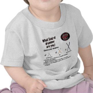 Clase de batería camiseta