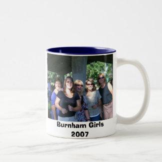 Clase de Burnham del an o 80 Taza De Dos Tonos