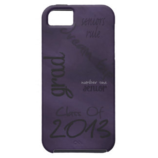 Clase de caja urbana púrpura del dispositivo móvil iPhone 5 Case-Mate protector