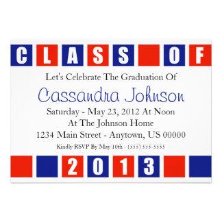 Clase de cajas (rojas/azules) de la invitación 201