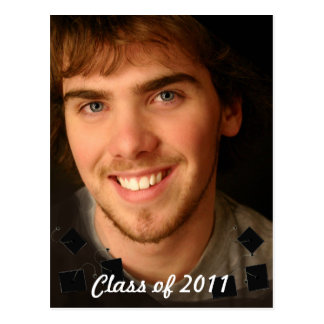 Clase de cambio de la graduación de la foto al año tarjeta postal