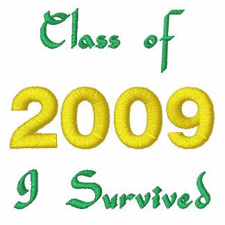 Clase de camiseta bordada 2009