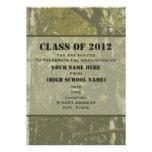 Clase de Camo de la invitación 2012 de la graduaci
