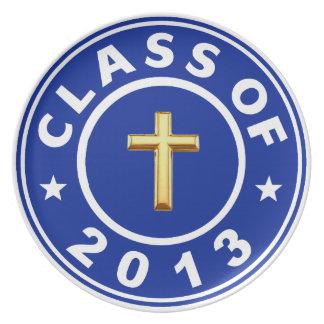 Clase de cruz de 2013 cristianos plato de cena