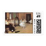 Clase de danza de Edgar Degas