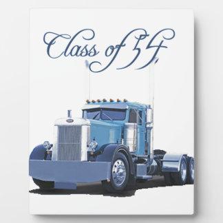 Clase de 'de ropa 54 camioneros placas para mostrar