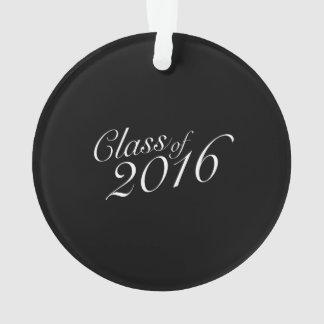 Clase de diplomado de High School secundaria 2016