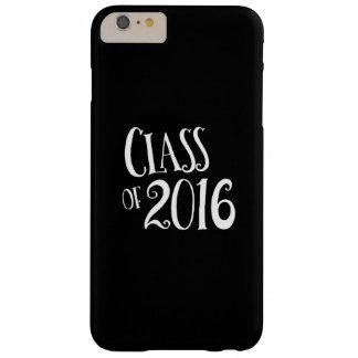 Clase de escritura blanco y negro del vintage 2016 funda para iPhone 6 plus barely there