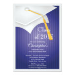 Clase de fiesta de graduación del casquillo del comunicado