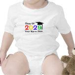 clase de graduación de 2029 niños traje de bebé