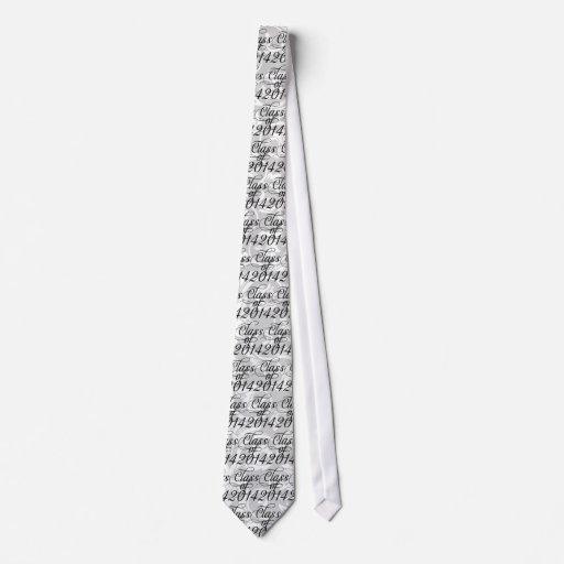 Clase de graduación Wispy del remolino 2014 Corbatas Personalizadas