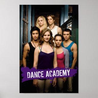 Clase de la academia de la danza poster