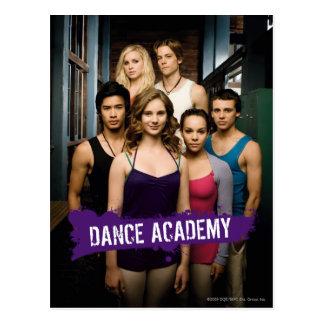 Clase de la academia de la danza postal