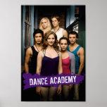 Clase de la academia de la danza póster