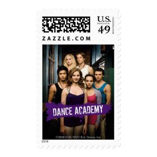 Clase de la academia de la danza sellos