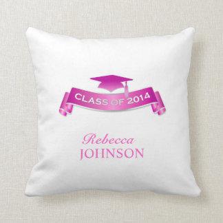 Clase de la almohada 2014 de tiro de la graduación