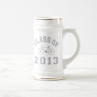 Clase de la bici 2013 - gris 2.o jarra de cerveza