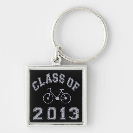 Clase de la bici 2013 - gris 2.o llaveros