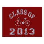 Clase de la bici 2013 - gris 2.o postal