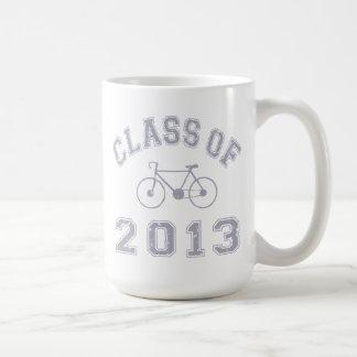 Clase de la bici 2013 - gris 2.o taza