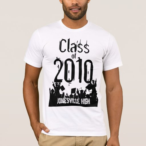 Clase de la camiseta 2010 de la graduación