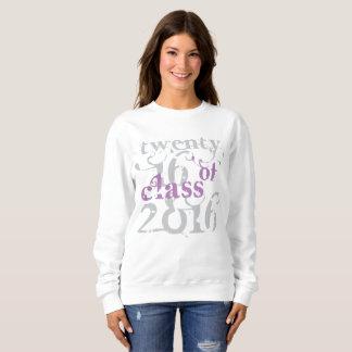 Clase de la camiseta 2016 de la púrpura de Swirly Playeras