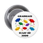 Clase de la celebración 2009 de la graduación pins