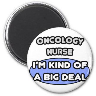 Clase de la enfermera de la oncología… de una gran imán redondo 5 cm