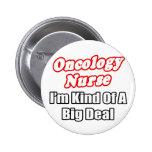 Clase de la enfermera de la oncología… de una gran pin