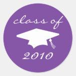Clase de la etiqueta 2010 (casquillo púrpura de la