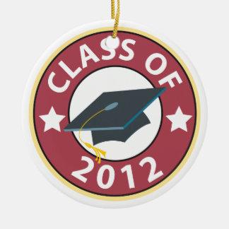 Clase de la graduación 2012 ornatos