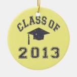 Clase de la graduación 2013 ornamento de reyes magos
