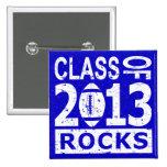 Clase de la graduación 2013 pin