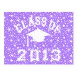 Clase de la graduación 2013 postal
