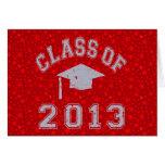 Clase de la graduación 2013 tarjeton