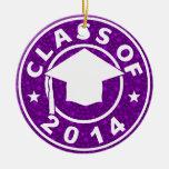 Clase de la graduación 2014 adorno de reyes