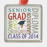 Clase de la graduación 2014 adorno para reyes