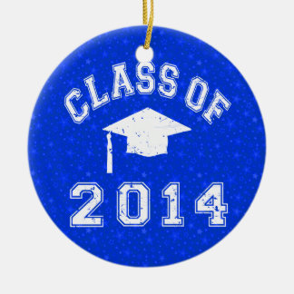 Clase de la graduación 2014 ornamento de reyes magos
