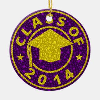 Clase de la graduación 2014 ornamento para reyes magos