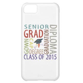 Clase de la graduación 2015 funda para iPhone 5C