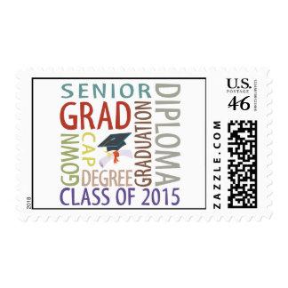 Clase de la graduación 2015 sellos