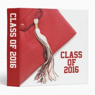 """Clase de la graduación 2016 1,5"""" álbum de foto carpeta 1 1/2"""""""